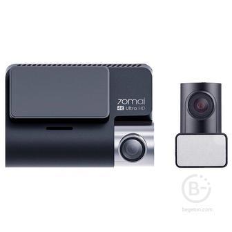Видеорегистратор Xiaomi 70mai Dash Cam A800 Midrive D09 + RC06 Rear Camera, 2 камеры, GPS Российская версия