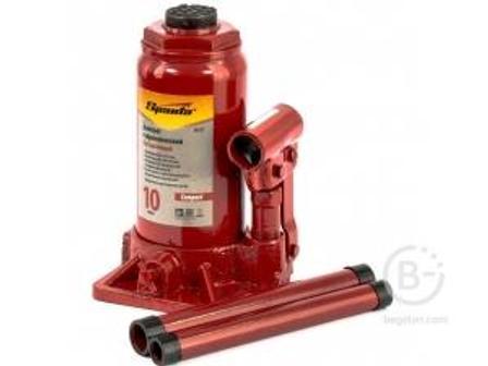 Домкрат гидравлический бутылочный Sparta 10 т, h 190-370 мм, Compact 50335 10 т, h 190-370 мм, Compact 50335