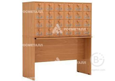 Распродажа! М340.4 Шкаф картотечный 24 ящ. 110*42*123 /ольха/