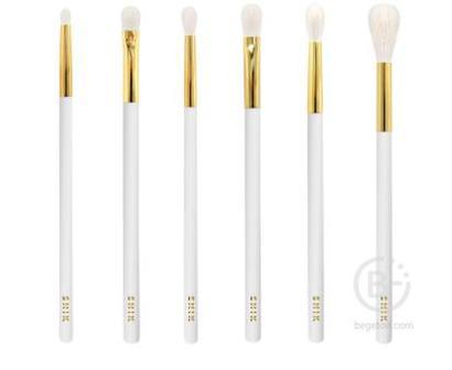 Лимитированный набор кистей для макияжа Goldy G01-G06 со скидкой