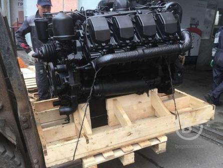 Двигатель ТМЗ 8486.10-03 (360 л.с.) для трубоукладчика Komatsu D355C