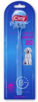 Cliny Зубная щетка 2D для собак