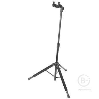 ONSTAGE GS8100 - Проф.стойка для гитары Hang-It™ ProGrip , усиленная, черная