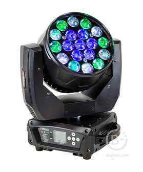 PROCBET WASH 19-15Z RGBW - Cветодиодный вращающийся прожектор PROCBET WASH 19-15Z RGBW. WASH BEAM /