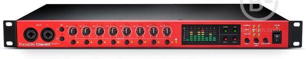FOCUSRITE CLARETT OCTOPRE - 8-канальный микрофонный предусилитель