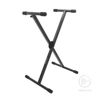 ONSTAGE KS7290 - Клавишная стойка крестообраз, усиленная, 5 позиций, регулируемая высота и ширина.