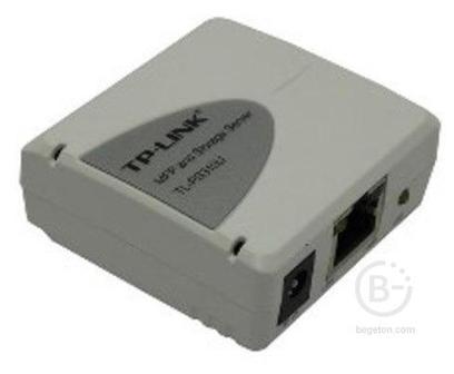Принт сервер TP-LINK TL-PS310U (1UTP 10/100MBPS, USB)