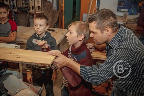 Мастер класс / экскурсия в столяроной мастерской