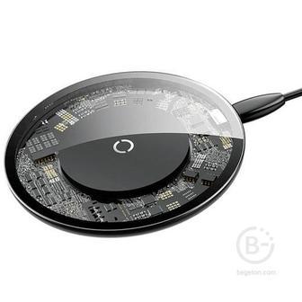 Беспроводная зарядка Baseus Simple Wireless Charger (Прозрачный)