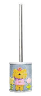 Щетка для унитаза WasserKRAFT Lossa K-3427 металл, хромоникелевое покрытие, полирезин