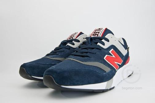 Кроссовки New Balance 997 Navy / Red