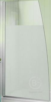 Шторка Jacob Delafon E4933-GA на ванну SERENITY, матовое стекло /145х80/ (хром)