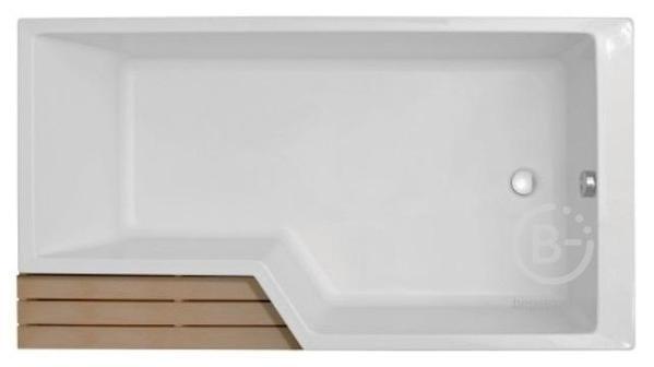 Акриловая ванна Jacob Delafon BAIN-DOUCHE NEO E6D000R-00 /160х90х70/