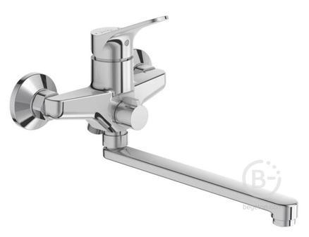 Смеситель Jacob Delafon BRIVE E78117-CP для ванны с длинным изливом (хром)