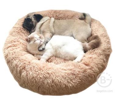 Супермягкая кровать для собак, диван, плюшевый коврик для кошек