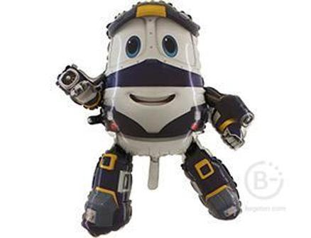 Шар Фольга 1207-3489 Г Фигура Паровозик Robot Trains Кей