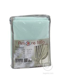 Штора Amore Mio RR 386-155 2,0*2,7*1 бирюзовый
