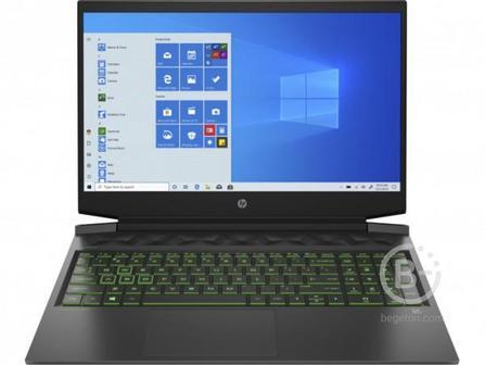 "2X0P4EA Ноутбук HP Pavilion Gaming 16-a0037ur black 16.1"""