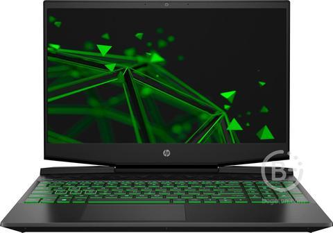 "22P78EA Ноутбук HP Pavilion Gaming 15-dk1043ur Black green 15.6"""