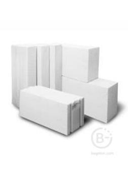 Блок из ячеистого бетона 100х300х600 D 400