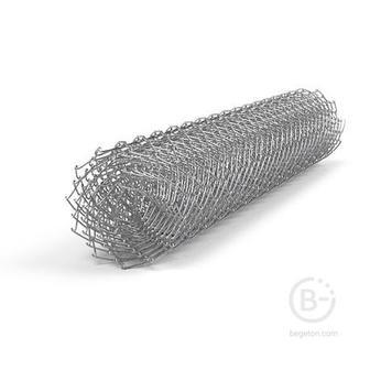Сетка Рабица неоц.|яч.60мм| h1,5м |Ø1,6| длина 10м