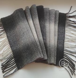 Шарф длинный ручной работы 100% шерсть (Кауни)