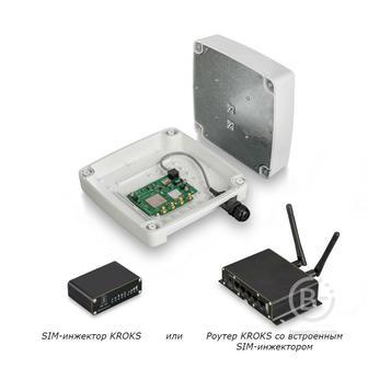 Rt-Ubx RSIM mQ-EC - Роутер KROKS с SMD модулем Quectel EC25-EC и SIM-инжектором