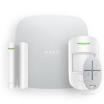 StarterKit Plus - Стартовый комплект системы безопасности Ajax белый