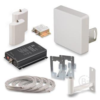 KRD-900-2 - Комплект KROKS для усиления сотовой связи сигнала GSM900 (70 dBi)