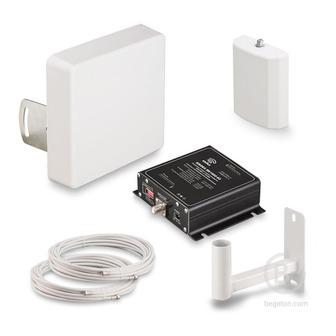 KRD-1800 - Комплект усиления KROKS сигналов сотовой связи 2G GSM1800 и 4G LTE1800 (60 dBi)