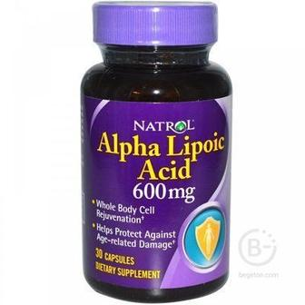 Natrol Alpha Lipoic Acid 300 mg, 50 caps.