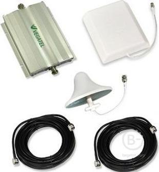Vegatel Vt-1800/3g-kit (офис) Репитер усилитель 3g (2100) gsm сигнала (комплект)