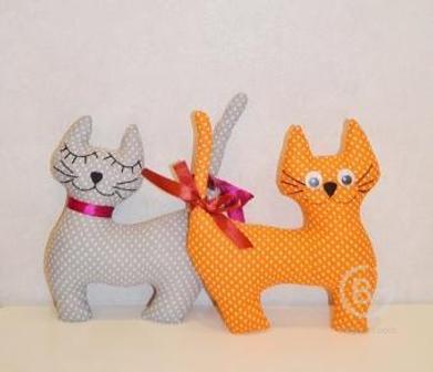 Мягкая игрушка «Кошки» в ассортименте