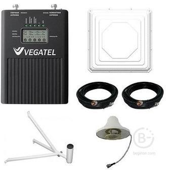Vegatel Vt2-3g/4g kit комплект репитера усилителя