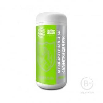 Салфетки влажные Cactus CS-ASHCL100 антибактериальные спиртовые (100 шт.)