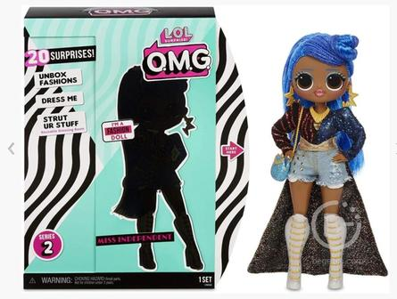 Кукла MGA Entertainment LOL Surprise OMG Series 2 - Miss Independent