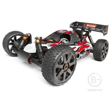 Радиоуправляемый багги HPI Trophy 3.5 Buggy 4WD RTR масштаб 1:8 2.4G