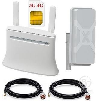 ShopCarry R283NM Wi-Fi роутер под сим карту 4G и внешней антенной MIMO 2x2