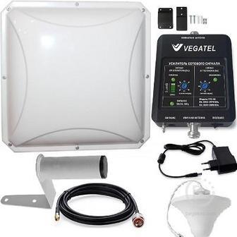 Vegatel Vt2-4g (led) Репитер 4g Lte 2600 Мгц Комплект