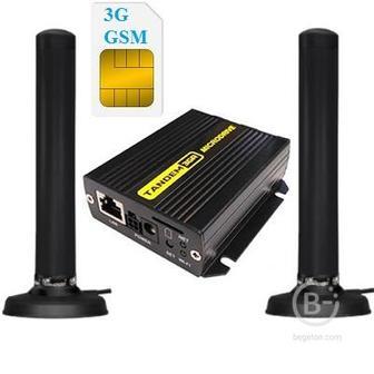 TANDEM-3GR-1 GSM Wi-Fi 3G роутер c 2-мя. антеннами 3G