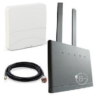 Huawei B315 4G 3G LTE GSM WiFi роутер универсальный с Антенной панельной кабелем 10 метров