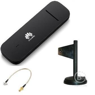 Huawei E3372h-153 4G LTE 3G 2G GSM GPRS модем универсальный с внешней антенной широкополосной и переходником