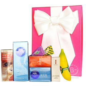 Подарочный набор косметики для лица Asmetika Banana & HA