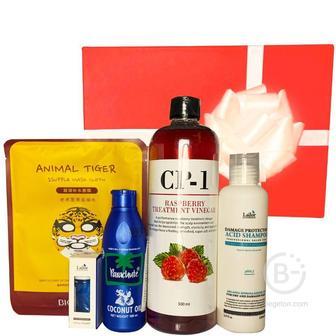 Подарочный набор косметики для волос и тела Asmetika Coconut & Raspberry