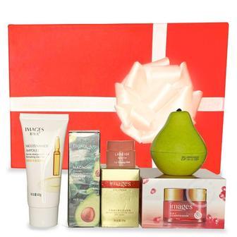 Подарочный набор косметики для лица и тела Asmetika Pear & Pomegranate