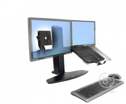 Ergotron Neo-Flex Lift 33-331-085 комбо-стенд для монитора и ноутбука, черный