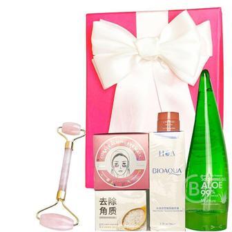 Подарочный набор косметики для лица Asmetika Rice & Coral