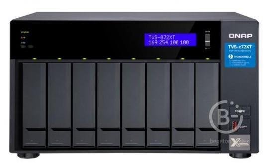 Сетевой накопитель QNAP TVS-872XT-i5-16G