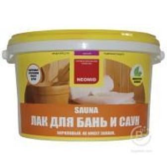 Лак «NEOMID SAUNA» объем: 2,5 кг
