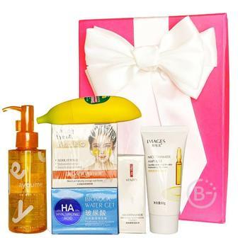 Подарочный набор косметики для лица Asmetika Orange & Banana